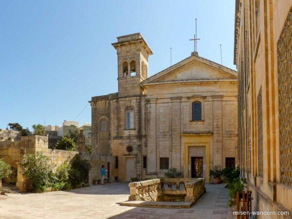 Zugang zu den St Paul's Catacombs in Rabat auf Malta