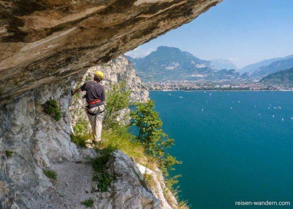 Bergpfad Massimiliano Torti beim Gardasee