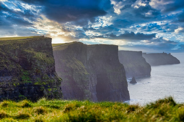 Cliffs of Mother in Irland