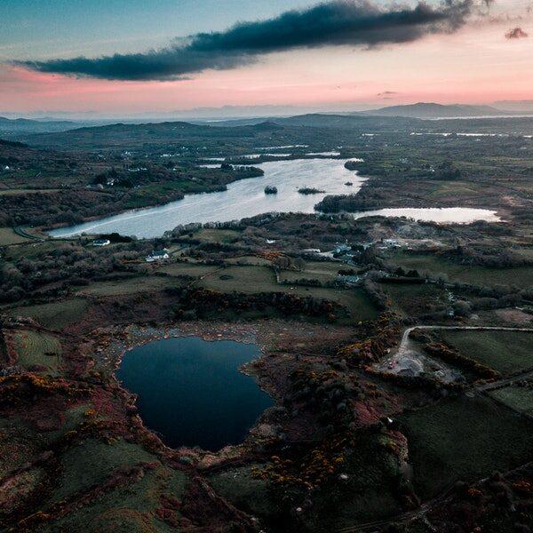 Naturaufnahme von Irland