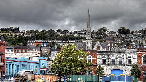 Stadtansicht von Cork