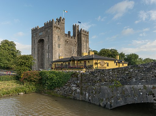 Bunratty Castle in Irland
