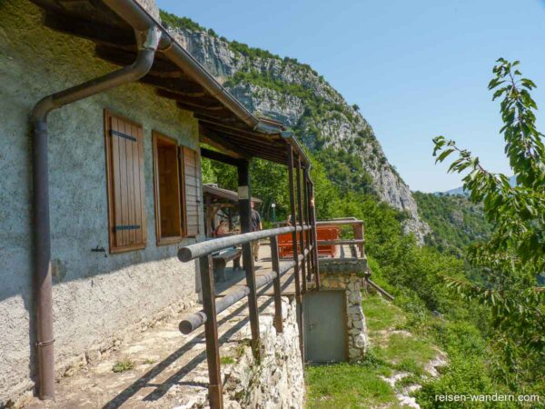 "Hütte ""Bivacco Francesco Arcioni"" am Gardasee"