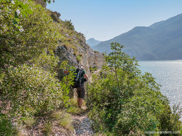 Einstieg zum Bergpfad Massimiliano Torti
