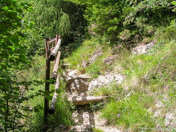 Wanderweg zum Monte Biaena