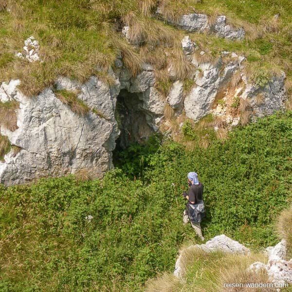 Überreste aus dem 1. Weltkrieg auf dem Monte Biaena