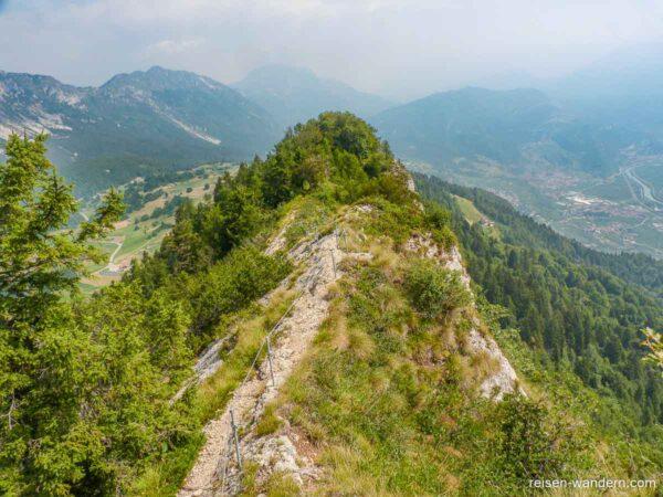 Gratweg des Monte Biaena