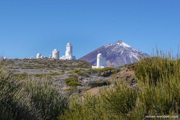 Observatorio del Teide, die Sternwarte auf dem Teide