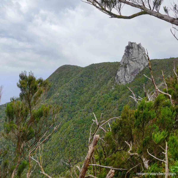 Fels Roque de Anambro im Anaga Gebirge