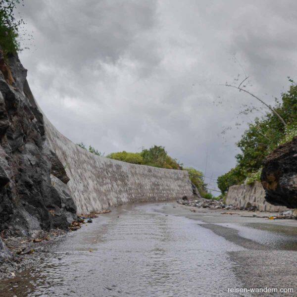 Abflussrinne im Barranco