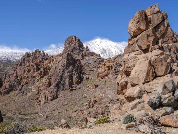 Felslandschaft des Roques de Garcia am Teide
