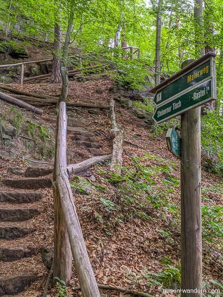 Aufstieg zur Schwarzberg-Aussicht