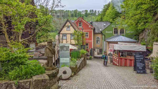 Schmilka in der Sächsischen Schweiz