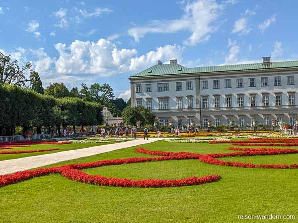 Schloss Mirabell mit Mirabellgarten