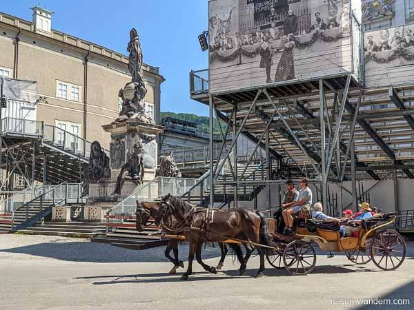 Pferdekutsche in Salzburg
