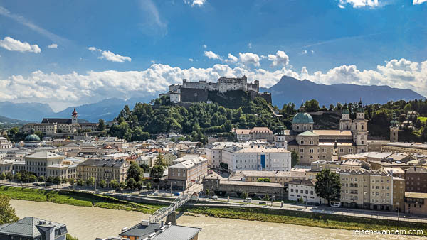 Salzburg mit Festung Hohensalzburg