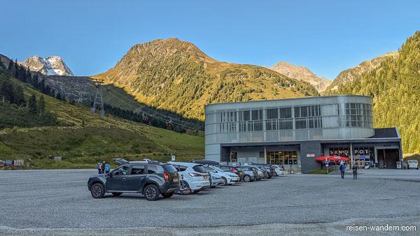 Parkplatz der Eisgrat Seilbahn