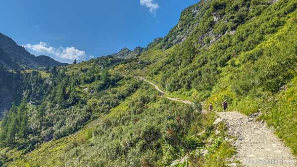 Zustiegsweg zum Franzi Klettersteig