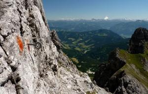 Klettersteig Hochkönig : Klettern bergsteigen urlaub region hochkönig