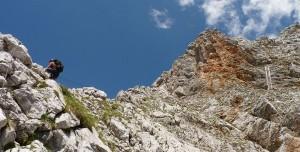 klettersteig-alpen-persailhorn-saalfelden-dritte-eisenleiter-panorama